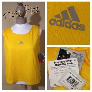 Adidas Crop Tank Top 3M Scotchlite Reflective Mdm